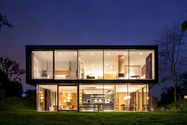 Holanda: Villa V - Paul de Ruiter Architects