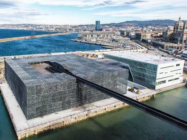 Francia: 'Musée des civilisations de l'Europe et de la Méditerranée', Marsella - Rudy Ricciotti