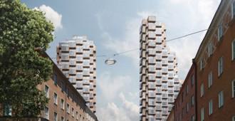 Suecia: OMA gana concurso para diseñar dos rascacielos en Estocolmo