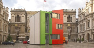 Homeshell - Rogers Stirk Harbour + Partners en la Royal Academy de Londres