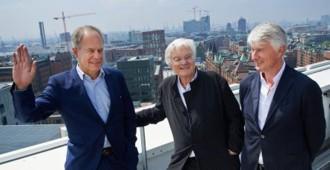 Entrevista: Christoph Ingenhoven, Meinhard von Gerkan y Pierre de Meuron, los hombres detrás de la 'debacle de la construcción en Alemania'...