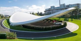 Alemania: 'Ausfahrt', Autostadt Wolfsburg - GRAFT