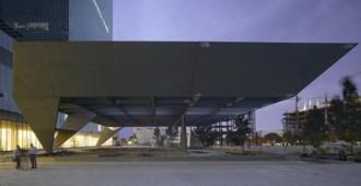 Video: Construcción del Teatro Cervantes, Ciudad de México - Ensamble Studio