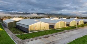 Ecuador: Hospital del Puyo - Pm,Mt arquitectura