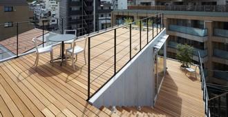 Japón: 'Balcony House', Tokio - Ryo Matsui Architects