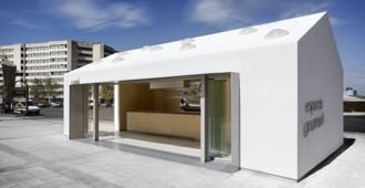 España: Kiosco de reunión en Tetuán, Madrid - Losada García Arquitectos