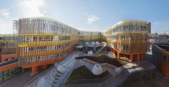 Austria: Facultad de Derecho y administración central de la Universidad de Economía de Viena - CRAB Studio