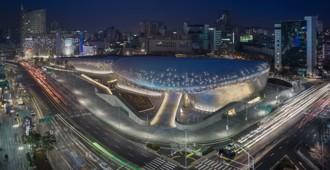 Corea del Sur:  Se inauguró el 'Dongdaemun Design Park & Plaza', Seúl – Zaha Hadid