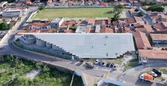 Brasil gimnasio arena do morro en natal herzog de for Gimnasio arena