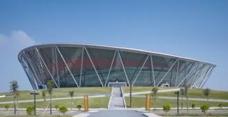 China: Estadio de Basketball en Dongguan - gmp Architekten