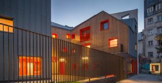 Francia: 'Logements Sociaux', Paris - Vous Êtes Ici Architectes