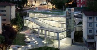 España: 'Galtzaraborda', garajes y ascensores urbanos - VAUMM arquitectura y urbanismo
