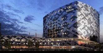Video: En construcción, Hilton Amsterdam Airport Schiphol - Mecanoo