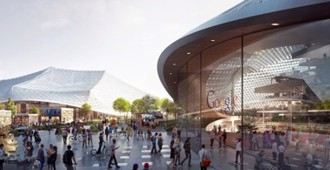 Google Campus, Mountain View, California - BIG + Heatherwick Studio
