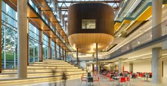 Canadá: 'UBC Student Union Building', Vancouver - DIALOG y B+H