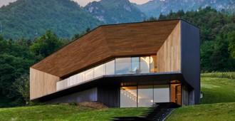 Italia: Una Casa en los Alpes, Lumezzane, Brescia - Camillo Botticini Architetto