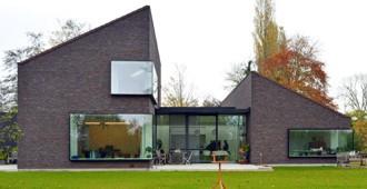 Bélgica: Casa Kiekens, Aalter - Architektuurburo Dirk Hulpia