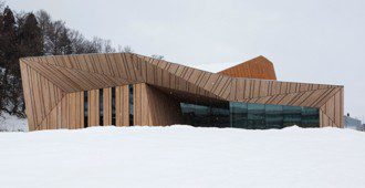 Japón: Centro Cultural en Iiyama - Kengo Kuma & Associates