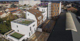 Francia: 16 viviendas sociales, París - Atelier Gemaile Rechak