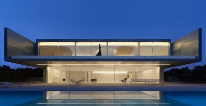 Espa a casa de aluminio madrid fran silvestre Noticias de arquitectura recientes