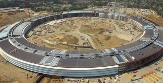 Video: Las obras del 'Apple Campus' en Cupertino, California – Foster + Partners