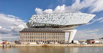 Bélgica: Oficinas para el puerto de Amberes - Zaha Hadid Architects