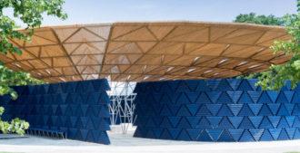 Londres: Serpentine Gallery Pavilion 2017 - Kéré Architecture