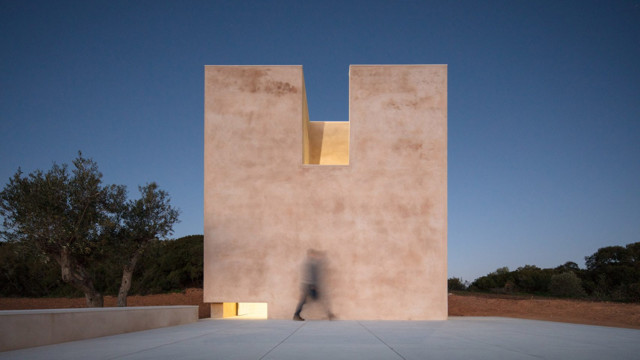 Portugal: Capela do Monte, Algarve - Álvaro Siza
