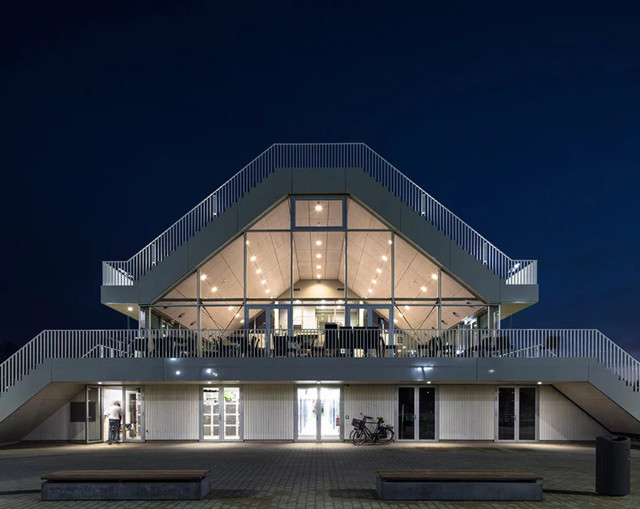 Paises bajos centro deportivo en r terdam nl architects Noticias de arquitectura recientes