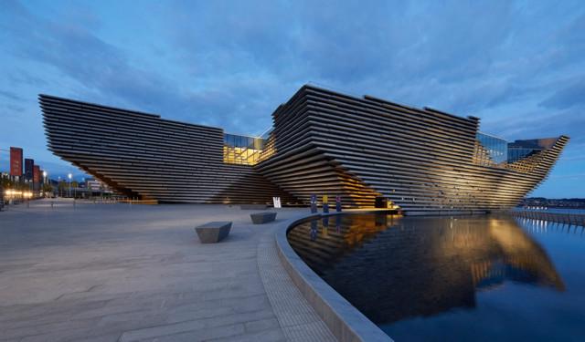 Reino Unido: V&A Dundee, Escocia - Kengo Kuma