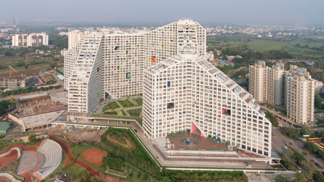 India: 'Future Towers', Pune -  MVRDV