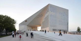 Francia; Centro Cultural MÉCA- BIG + FREAKS Architecture