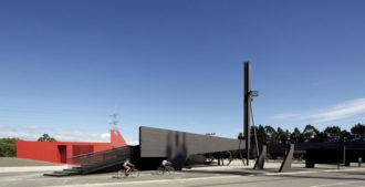 Chile: Centro Cívico Boca Sur, Concepción - Smiljan Radic