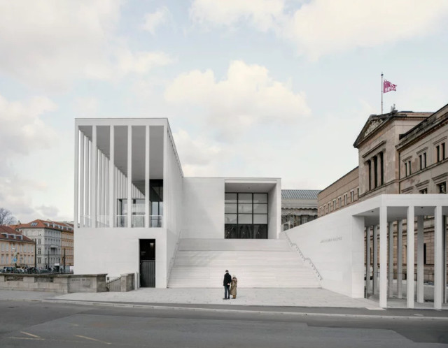 Alemania: 'James Simon Galerie', Berlin - David Chipperfield Architects