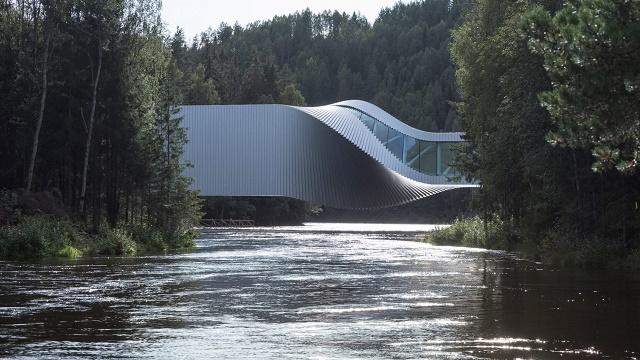 Noruega: 'The Twist', Museo Kistefos - BIG, Jarke Ingels Group