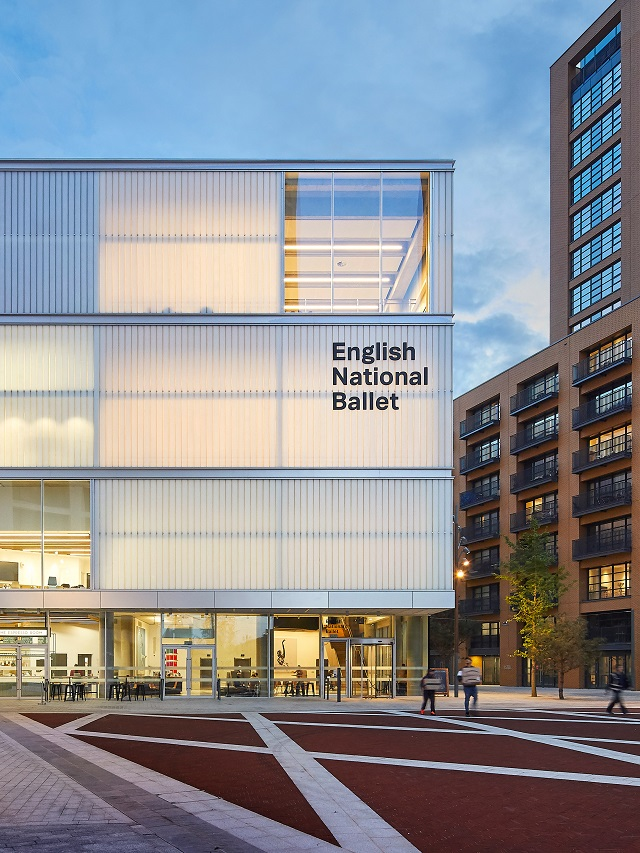 Inglaterra: English National Ballet School, Londres - Glenn Howells Architects