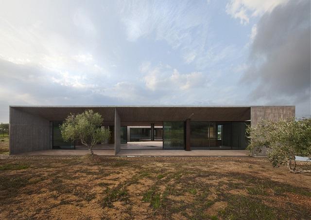 Grecia: Casa en Mégara - Tense Architecture Network