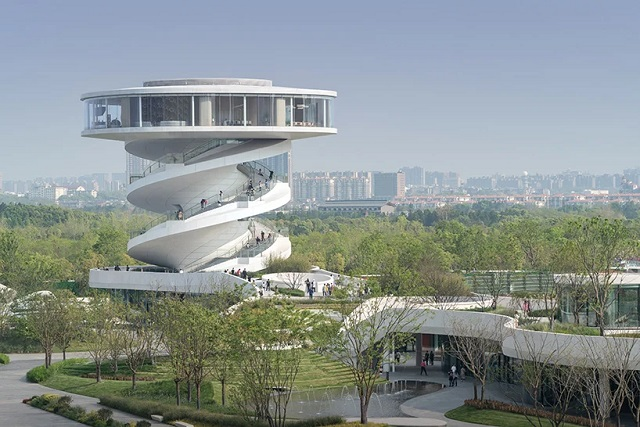 """China: """"Nanchang Wave"""" - Nordic — Office of Architecture"""