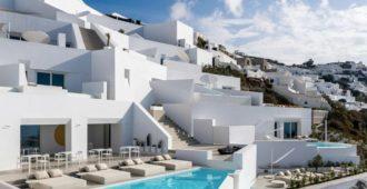 Grecia: Saint Hotel, Santorini - Kapsimalis Architects