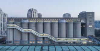 China: Renovación de los silos en el muelle de Minsheng - Atelier Deshaus