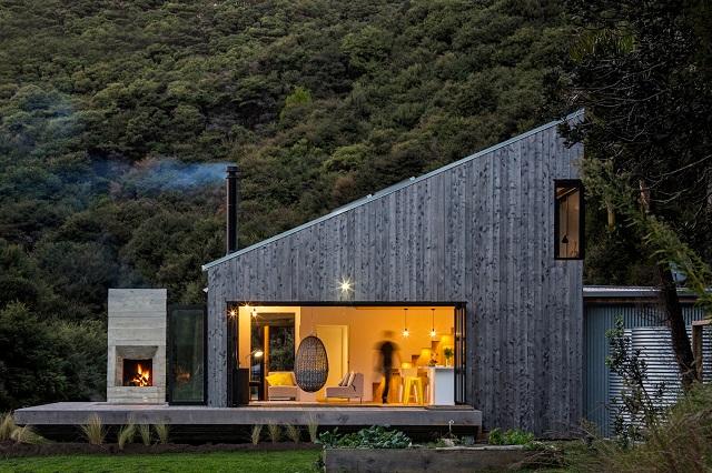 Nueva Zelanda: Back Country House - LTD Architectural Design Studio