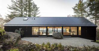 Estados Unidos: Ledge House - Desai Chia Architecture