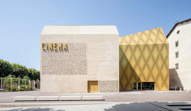 Francia: Cinéma le Grand Palais - Antonio Virga Architecte