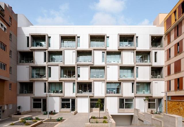 España: Casas apiladas - Romera y Ruiz Arquitectos