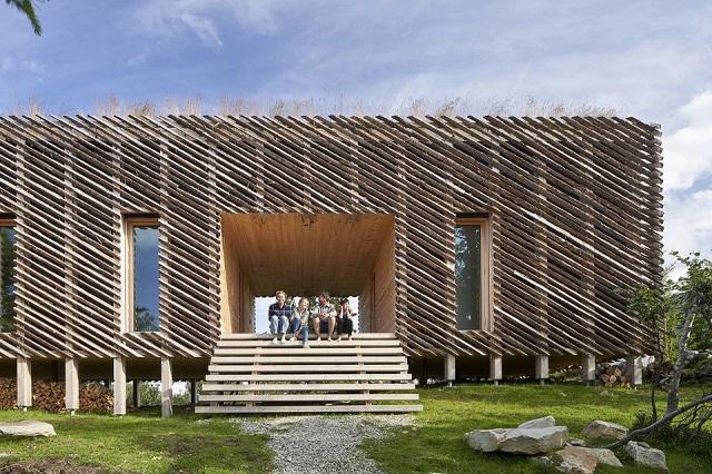 Noruega: Cabaña Skigard - Mork-Ulnes Architects