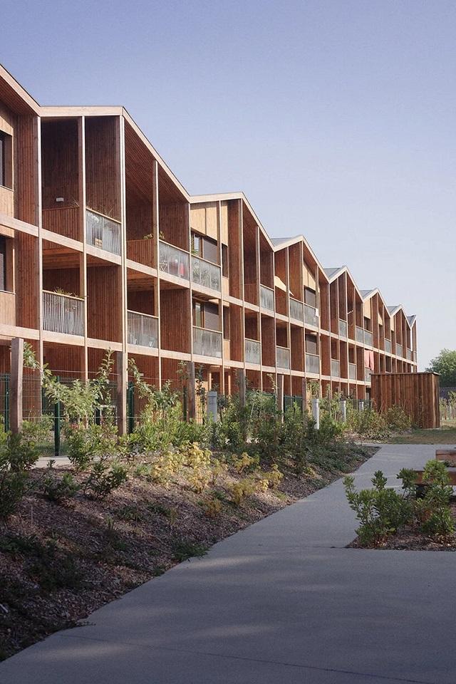 Francia: 55 viviendas en Nantes - TANK Architectes