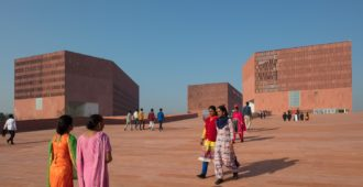 India: Laboratorio de aprendizaje de la Universidad Thapar - Mccullough Mulvin Architects + Designplus Associates Services
