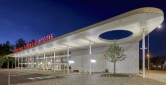 Lituania: Estación de Autobuses en Vilkaviškis - Balčytis Studija