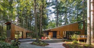 Estados Unidos: Pequeña casa, gran cobertizo - David Van Galen Architecture