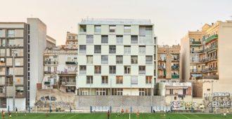 España: Viviendas sociales en la calle Alí Bei de Barcelona - Pau Vidal, Arquitectura Produccions, Vivas Arquitectos